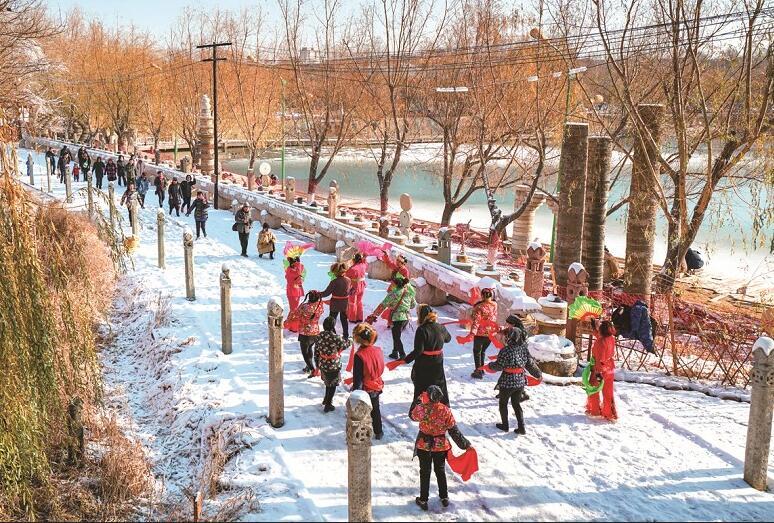 葫芦山庄冬季冰雪项目惊艳启幕